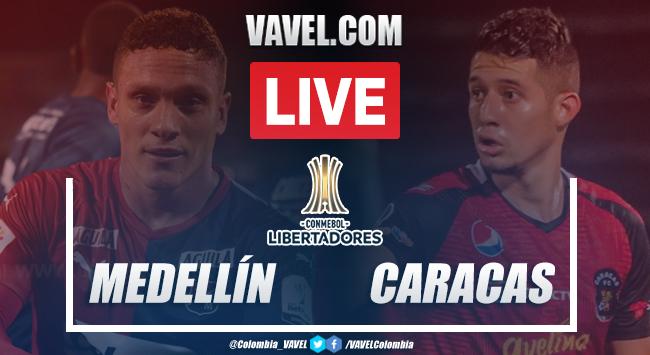 Resumen y goles: Independiente Medellín vs Caracas (2-3) por Copa Libertadores