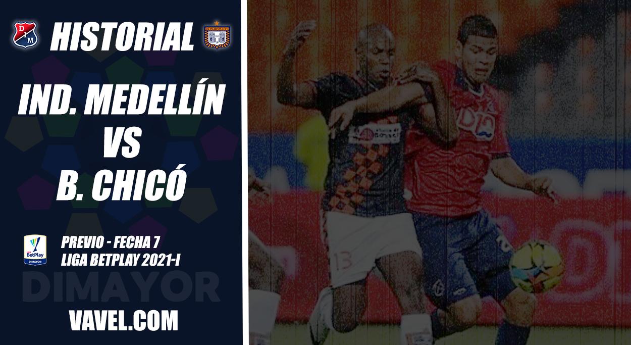 Historial Independiente Medellín vs Boyacá Chicó: saldo general en rojo para el 'poderoso'