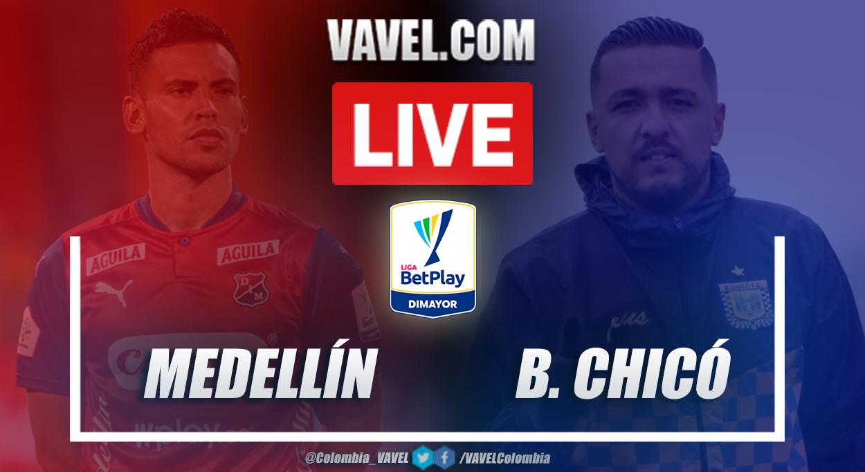 Resumen Medellín vs Chicó (1-0) en la fecha 7 por Liga BetPlay 2021-I