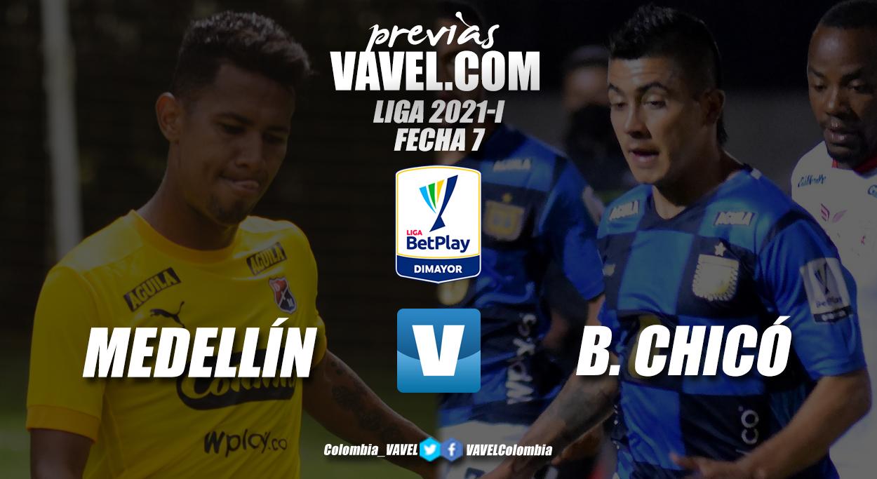 Previa Independiente Medellín vs. Boyacá Chicó: un partido para sumar y seguir dentro los ocho