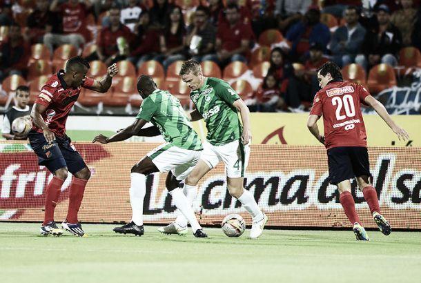 Resultado Cali - Medellín en ida final Liga Águila 2015 (1-0)