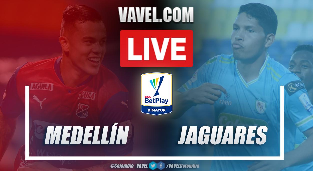 Resumen Medellín vs Jaguares (1-0) en la fecha 6 por Liga BetPlay 2021-I