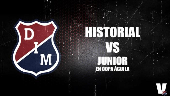 Historial entre Medellín y Junior en la Copa Águila