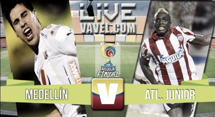 Resultado Medellín vs Junior en Final Liga Águila 2016-I (2-0)
