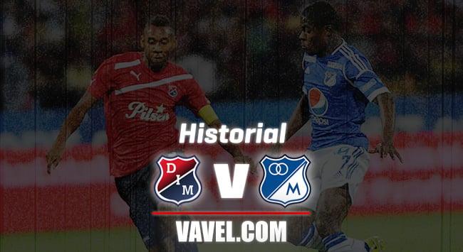 Historial Independiente Medellín vs. Millonarios: los 'azules' llevan la ventaja en los números