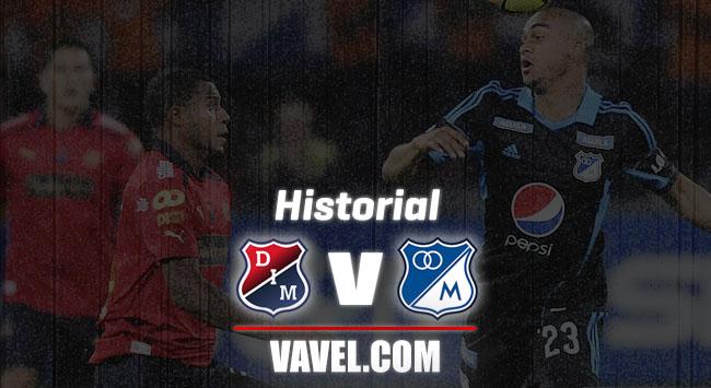 Historial entre Medellín y Millonarios