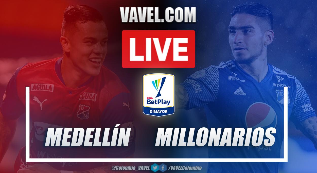 Resumen de Medellín vs Millonarios (0-0) por la cuarta fecha de la Liga BetPlay