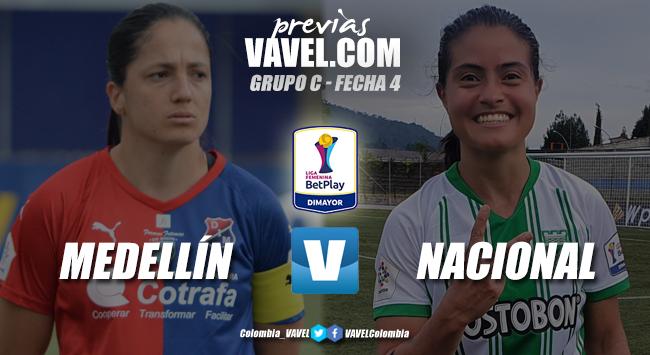 Previa Independiente Medellín vs Atlético Nacional: las 'verdolagas' buscan la revancha