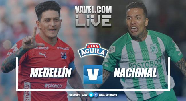 Resumen Independiente Medellín vs Atlético Nacional (2-1)
