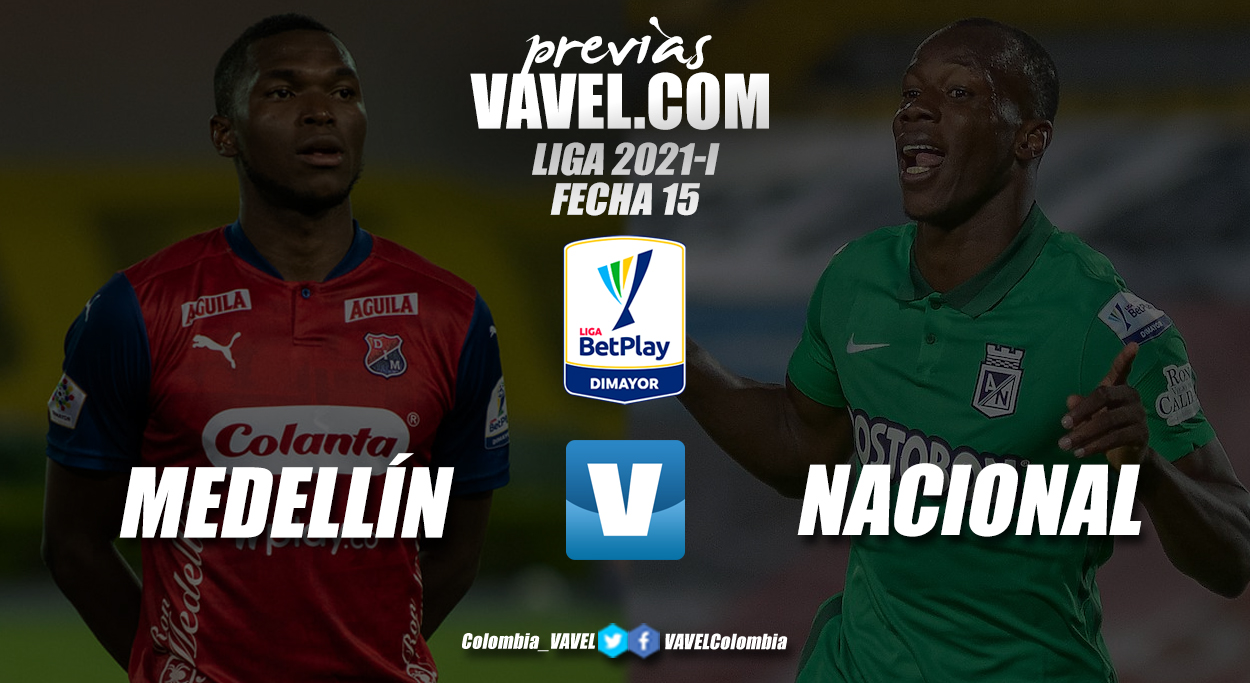 Previa Independiente Medellín vs Atlético Nacional: clásico paisa por los lugares de privilegio