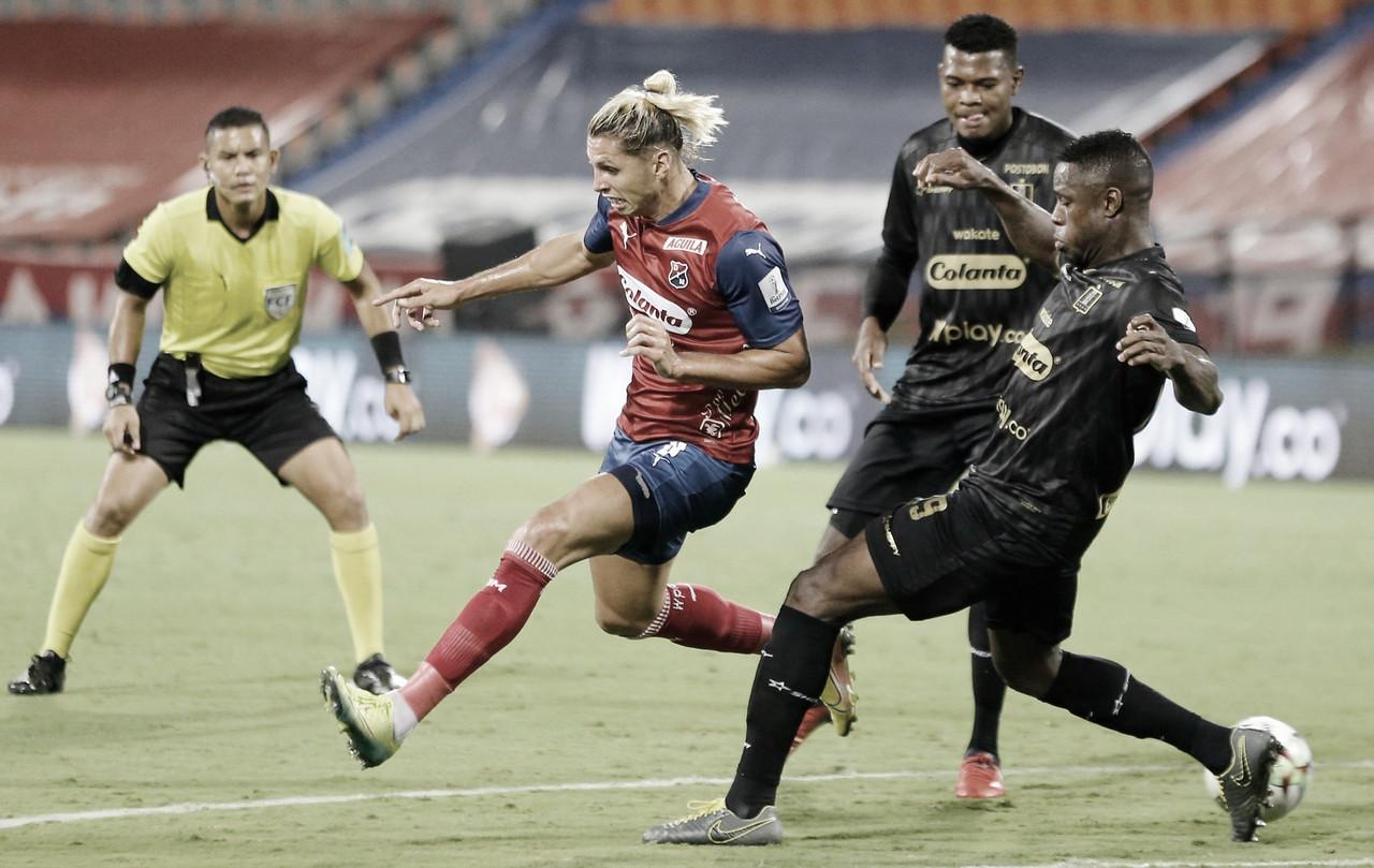 Medellín y Once Caldas no pasaron del empate en la ida de la fase 3 en la Copa BetPlay