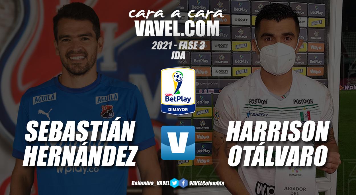 Cara a cara: Sebastián Hernández vs Harrison Otálvaro