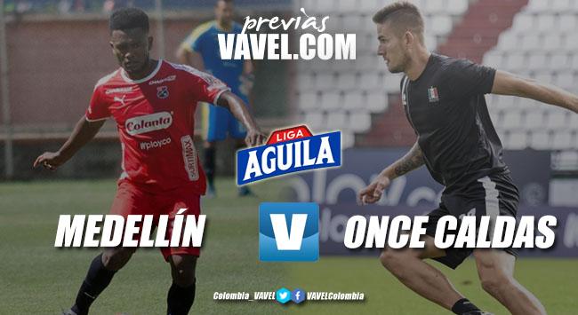 Previa Independiente Medellín vs Once Caldas: tres puntos para que solo un equipo levante cabeza