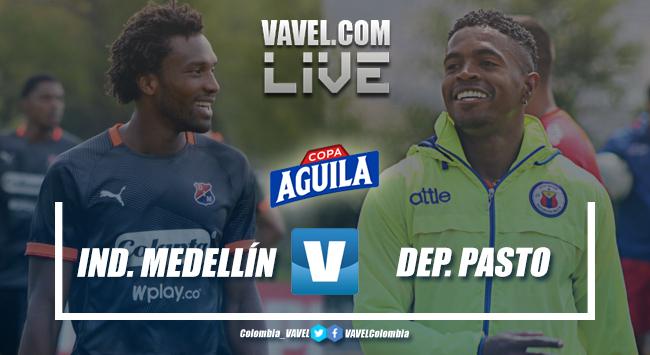 Independiente Medellín vs Deportivo Pasto en vivo por semifinales de la Copa Aguila