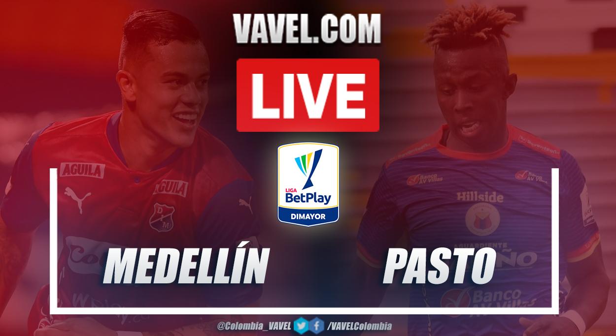 Resumen Medellín vs Pasto (2-2) en la fecha 13 por Liga BetPlay 2021-I