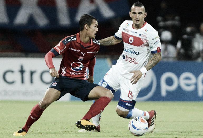 Puntuaciones en Independiente Medellín tras el empate en su visita al Deportivo Pasto