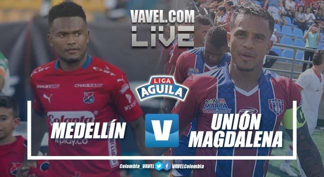 Medellín vs Unión Magdalena en vivo minuto a minuto por Liga Águila 2019