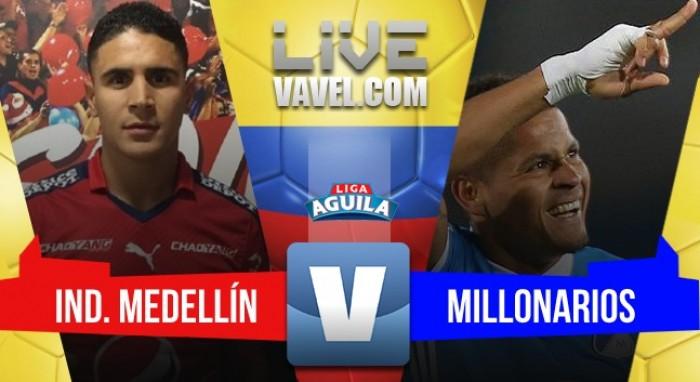 1-1 en el Atanasio Girardot — DIM y Millonarios