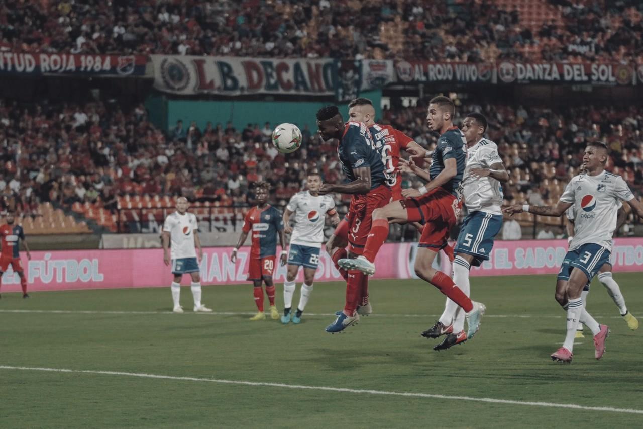 Medellín sacó ventaja en el primer duelo de Copa ante Millonarios