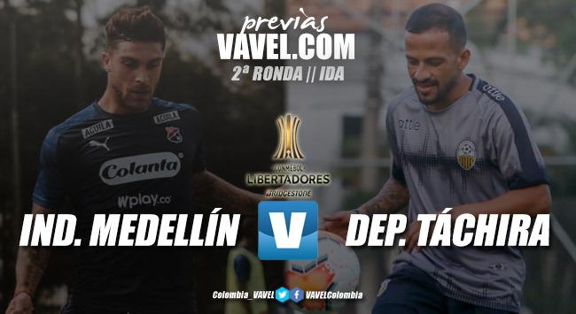 Previa: Medellín vs. Deportivo Táchira: por la fase 3 de la Copa Libertadores