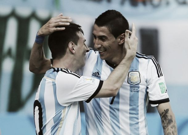 Argentina, il migliore è Di Maria
