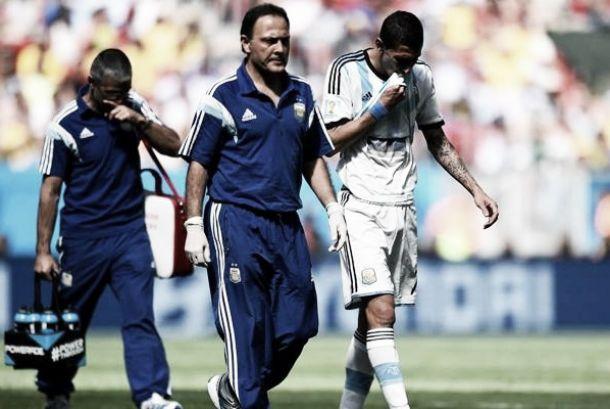 Di María fica fora de treino da Argentina e reforça boatos de que estará fora da Copa