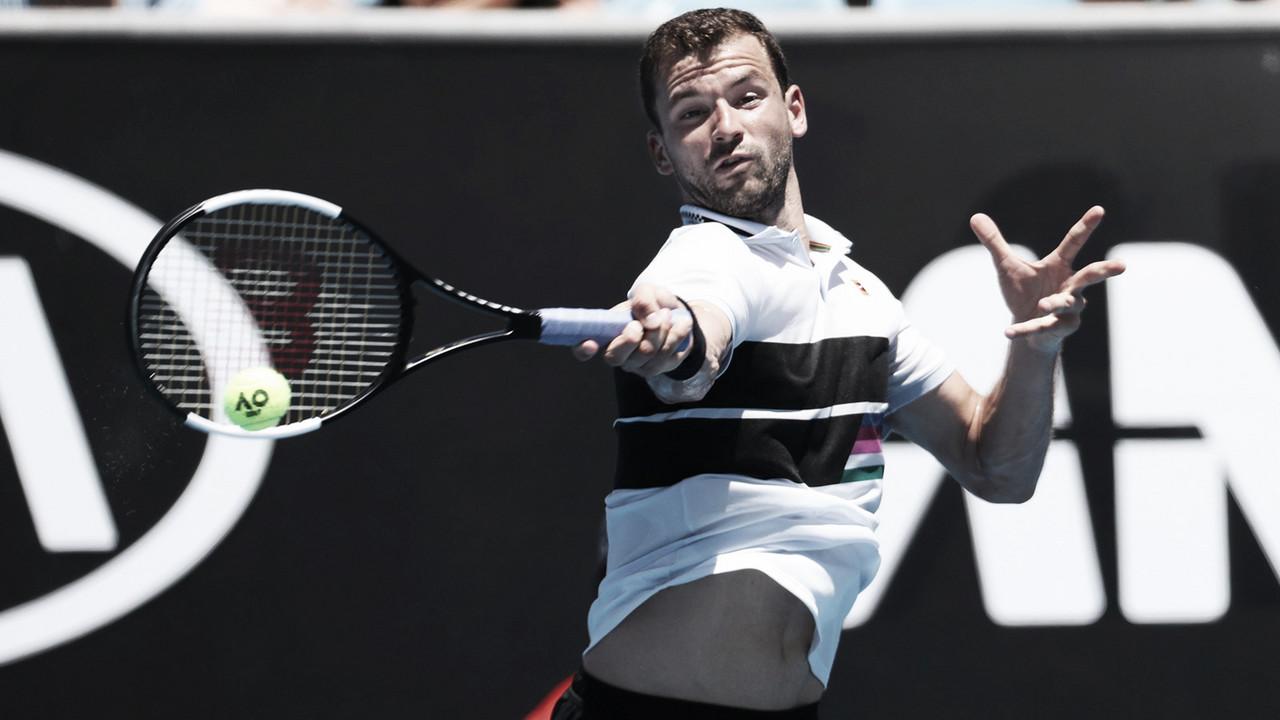 Dimitrov se deshace de Cuevas y se mete en tercera ronda