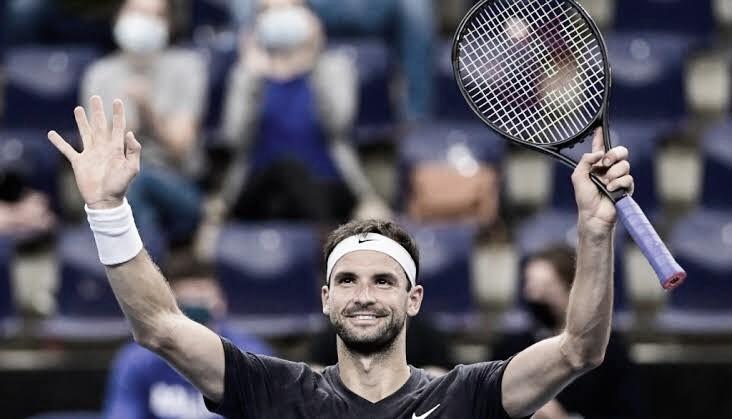 Grigor Dimitrov venceu Stefanos Tsitsipas no ATP de Viena 2020 (ATP/Divulgação)