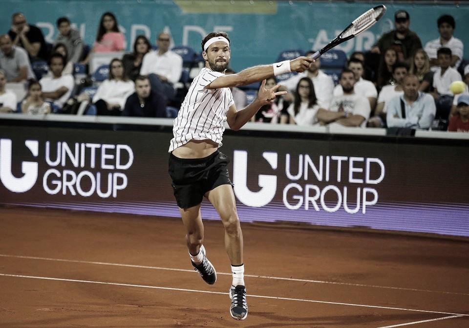 Torneio organizado por Djokovic é cancelado após Dimitrov ser contaminado pela Covid-19