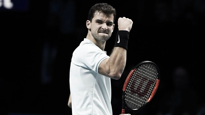 Dimitrov vira sobre Sock e decide ATP Finals 2017