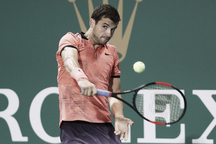 ATP Paris: Grigor Dimitrov through to the third round after Marcos Baghdatis retires