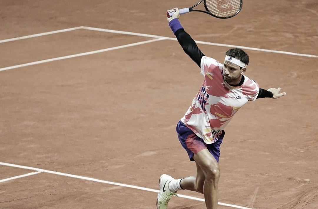 Dimitrov passa bem por Barrère e vai à segunda rodada em Roland Garros