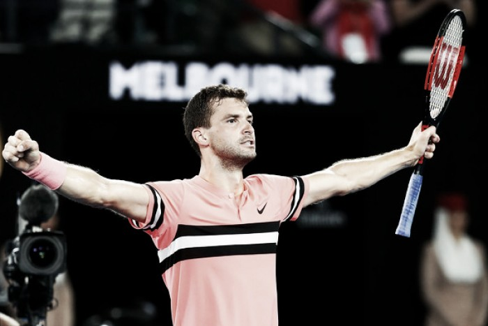 Australian Open: Grigor Dimitrov ousts Nick Kyrgios in late-night thriller