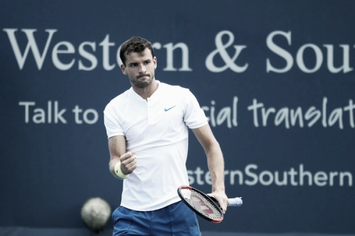 ATP Cincinnati: Grigor Dimitrov grinds into quarterfinals