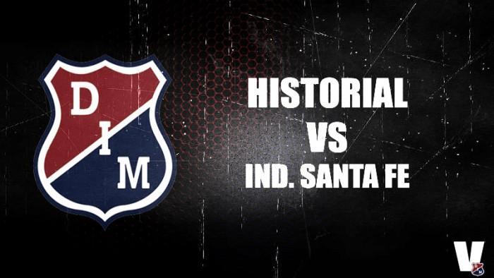 Historial casi que parejo entre Medellín y Santa Fe