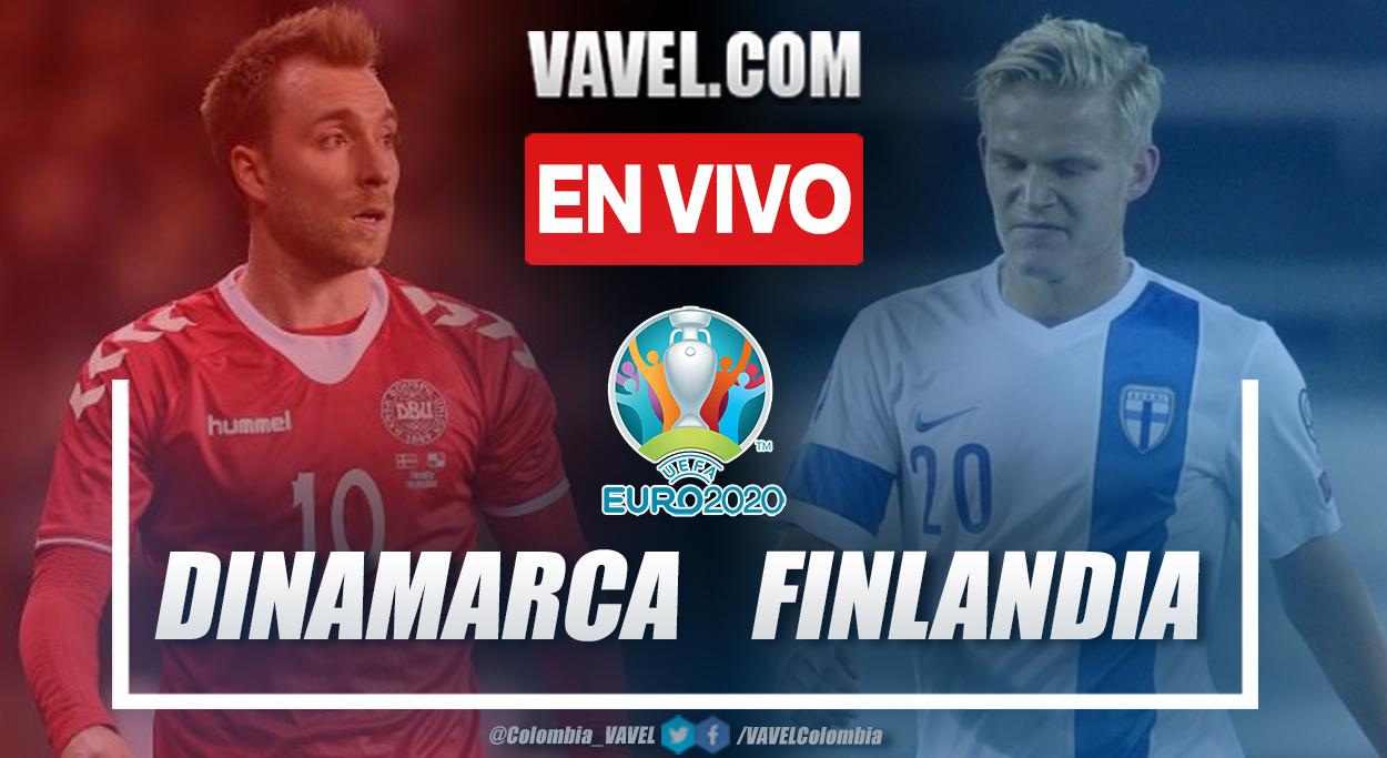Resumen Dinamarca vs Finlandia (0-1) en la fecha 1 del grupo B de la UEFA Euro 2020