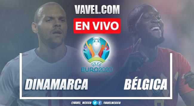Goles y resumen del Dinamarca 1-2 Bélgicaen Euro 2020