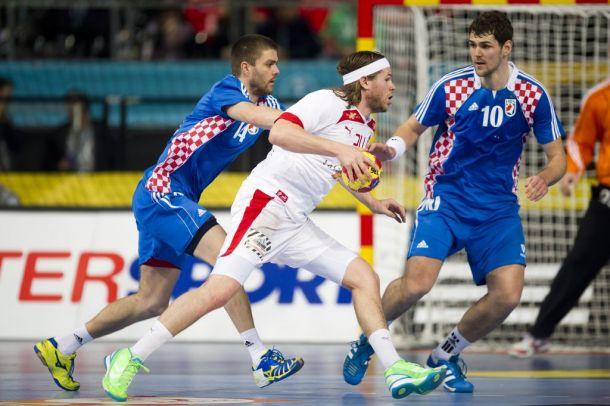 Dinamarca - Croacia: los locales, favoritos a estar en la final