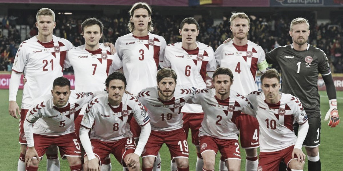 Análisis táctico de Dinamarca 2018: un sistema en torno a la estrella del equipo