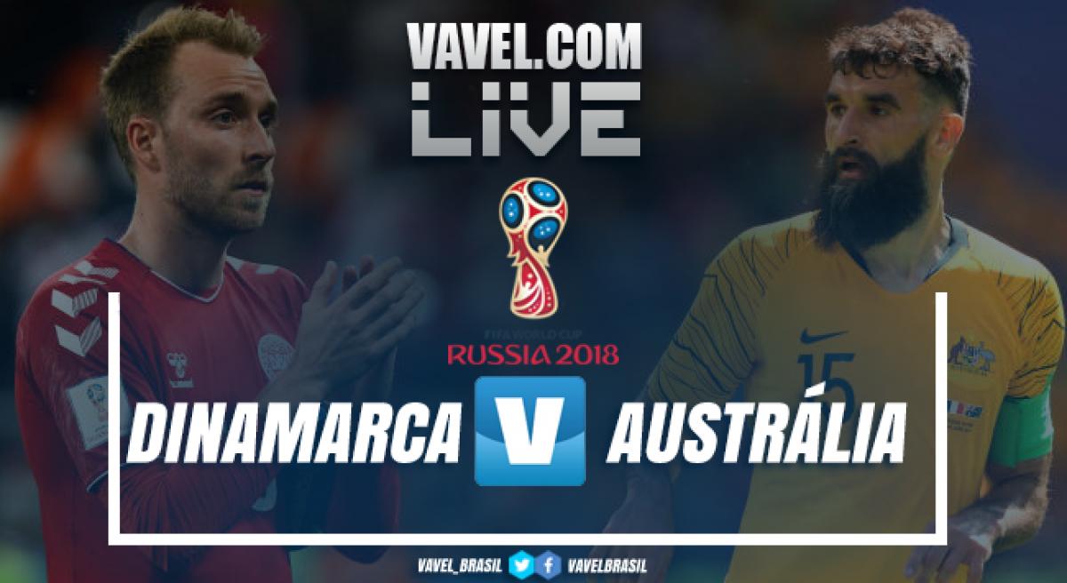 Resultado Dinamarca x Austrália na Copa do Mundo 2018 (1-1)
