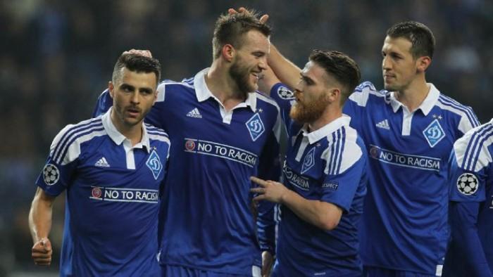 Champions League - La Dinamo esagera col Besiktas. Finisce 6 - 0