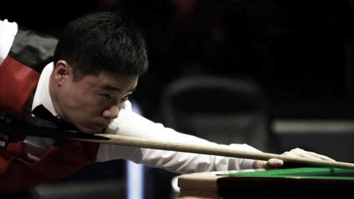 Ding strikes Gould at the Crucible