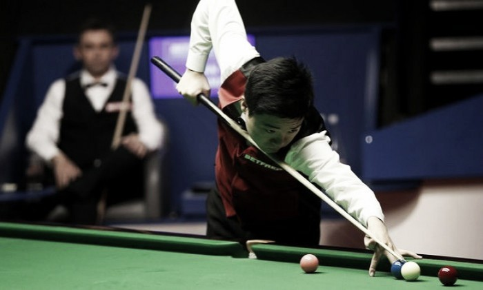 Ding Junhui and Mark Selby take control in the semi-finals