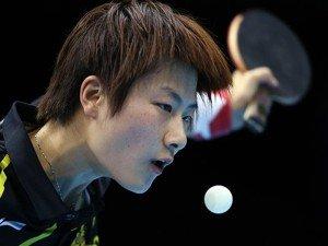 China cumple y estará en la final de tenis de mesa femenino