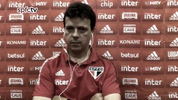 Fernando Diniz confia em reação do elenco após sétima partida sem vitória