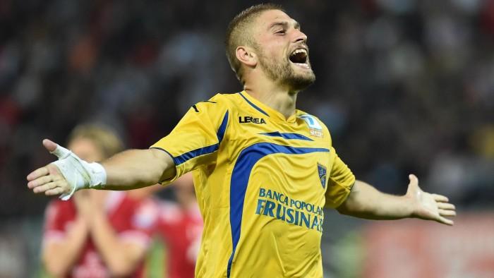 Serie B - Frosinone capolista, la gioia di Marino e Dionisi