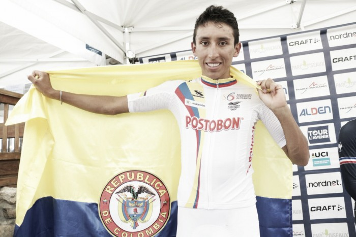 Egan Bernal, campeón del Tour L'Avenir y nuevo fichaje del Team Sky