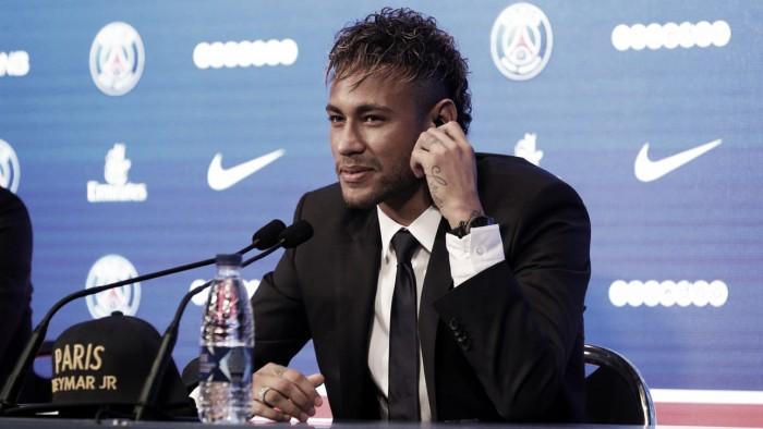 """Apresentado, Neymar estabelece meta no PSG: """"Conquistar melhores títulos"""""""