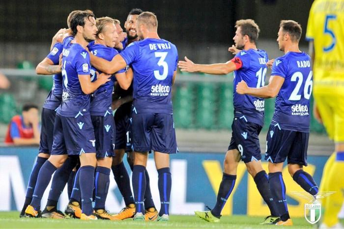 Una Lazio quadrata e tosta supera un buon Chievo: 2-1 al Bentegodi