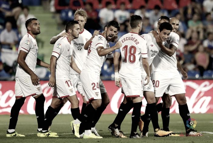Sevilla FC - Girona: puntuaciones Sevilla FC, jornada 22 de La Liga Santander